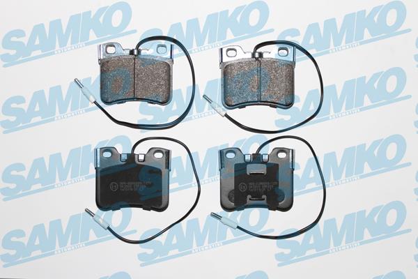 Спирачни накладки SAMKO за CITROEN AX - 5SP283