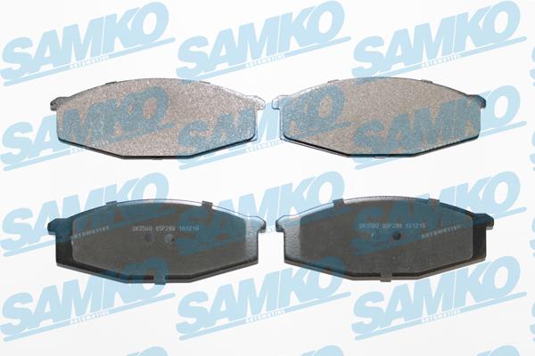 Спирачни накладки SAMKO за Nissan Patrol - 5SP289