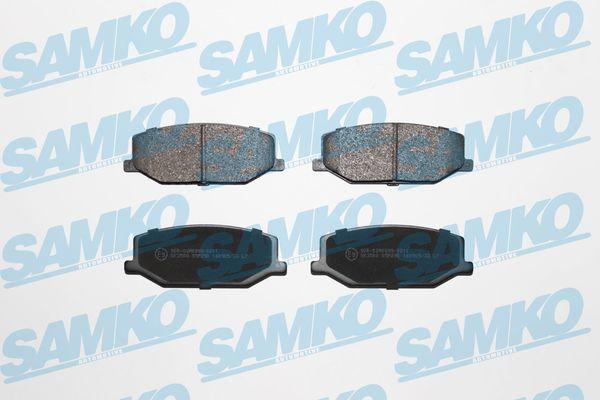 Спирачни накладки SAMKO за SUZUKI Samurai - 5SP290