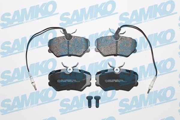 Спирачни накладки SAMKO за PEUGEOT 405 - 5SP293
