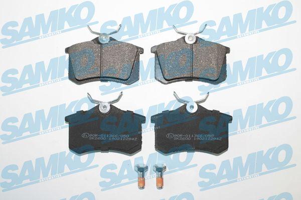 Спирачни накладки SAMKO за PEUGEOT - 5SP294
