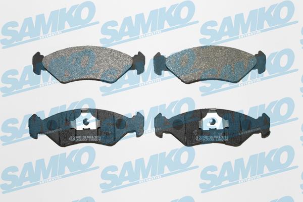 Спирачни накладки SAMKO за FORD Fiesta - 5SP295