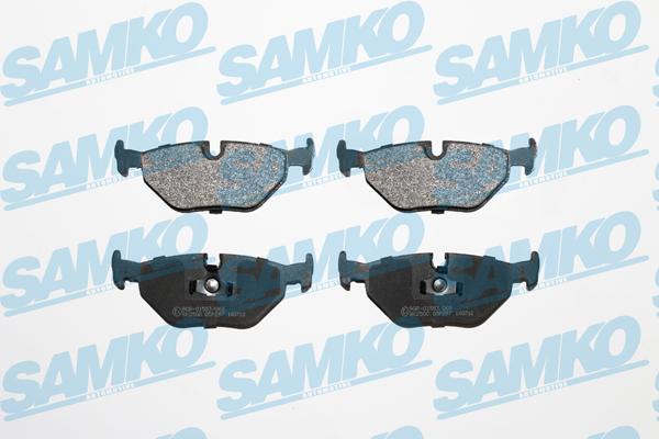 Спирачни накладки SAMKO за BMW - 5SP297