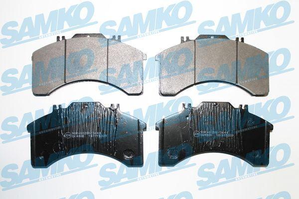 Спирачни накладки SAMKO за IVECO - 5SP309
