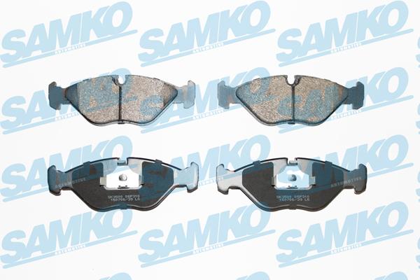 Спирачни накладки SAMKO за SAAB - 5SP310
