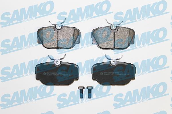 Спирачни накладки SAMKO за BMW - 5SP319