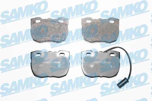 Спирачни накладки SAMKO за LAND ROVER - 5SP324