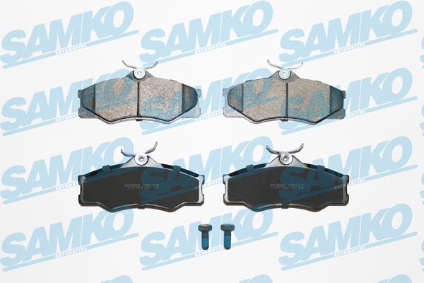 Спирачни накладки SAMKO за Volkswagen - 5SP325