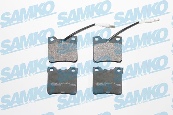 Спирачни накладки - 5SP330
