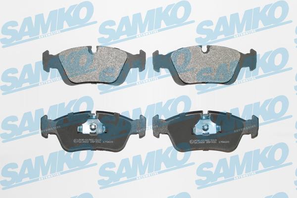 Спирачни накладки - 5SP331