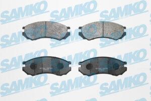 Спирачни накладки SAMKO - 5SP354