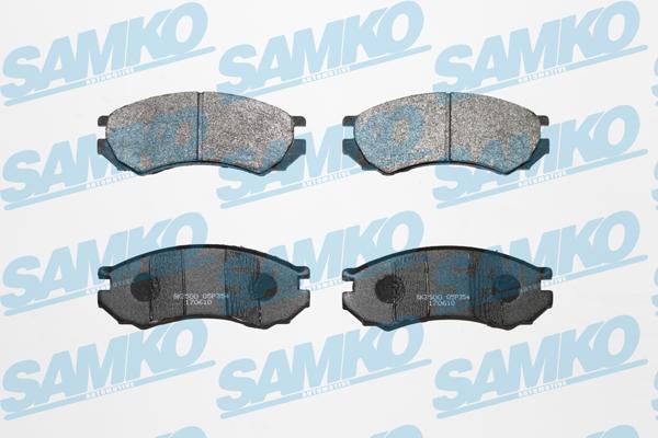 Спирачни накладки - 5SP354