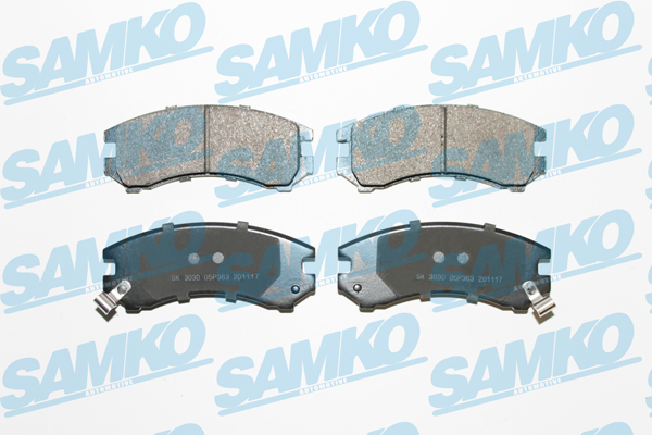 Спирачни накладки SAMKO - 5SP363