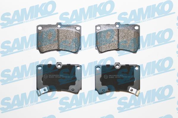 Спирачни накладки SAMKO - 5SP366