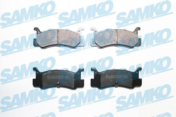 Спирачни накладки SAMKO - 5SP367