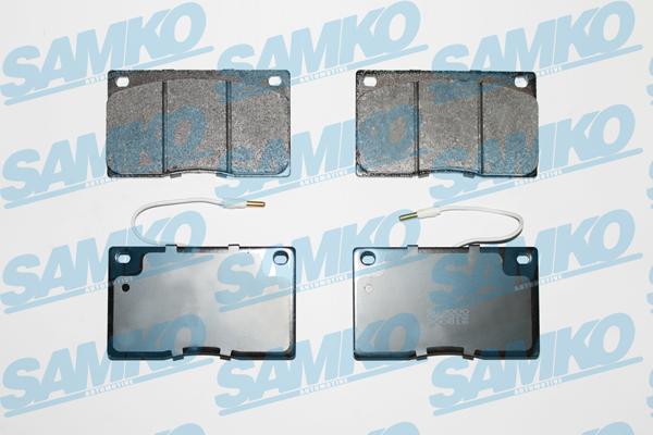 Спирачни накладки SAMKO - 5SP372