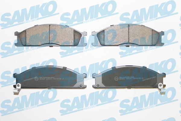 Спирачни накладки SAMKO - 5SP378