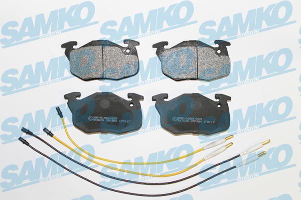 Спирачни накладки SAMKO - 5SP384