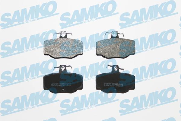 Спирачни накладки SAMKO - 5SP387