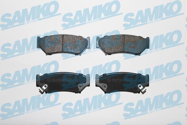 Спирачни накладки SAMKO - 5SP396