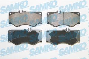 Спирачни накладки SAMKO - 5SP408