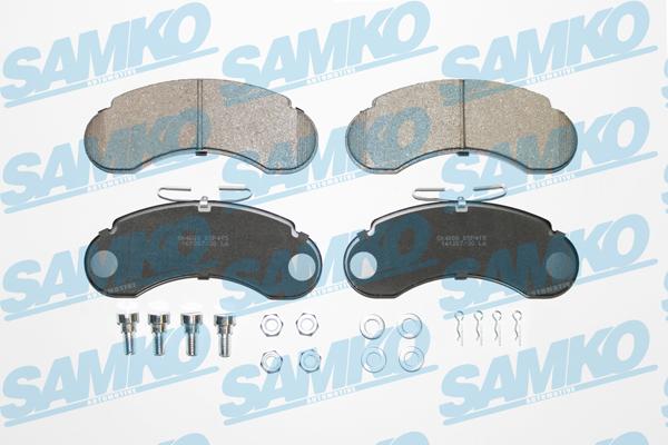 Спирачни накладки SAMKO - 5SP415