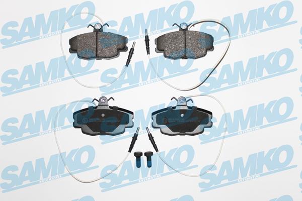 Спирачни накладки SAMKO - 5SP422