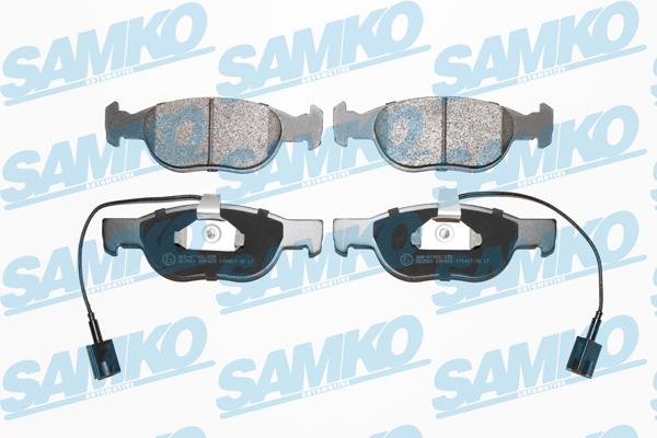 Спирачни накладки SAMKO - 5SP424