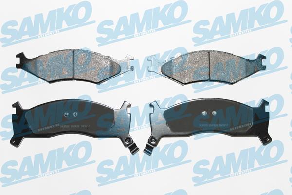 Спирачни накладки SAMKO - 5SP426