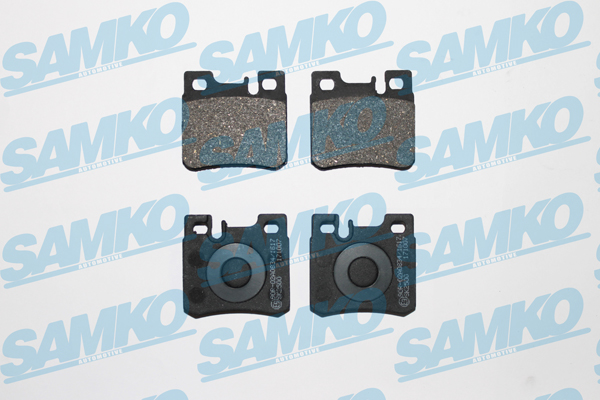Спирачни накладки SAMKO - 5SP428