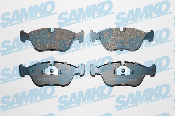 Спирачни накладки SAMKO -5SP436