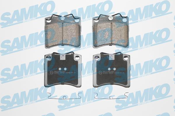 Спирачни накладки SAMKO - 5SP437