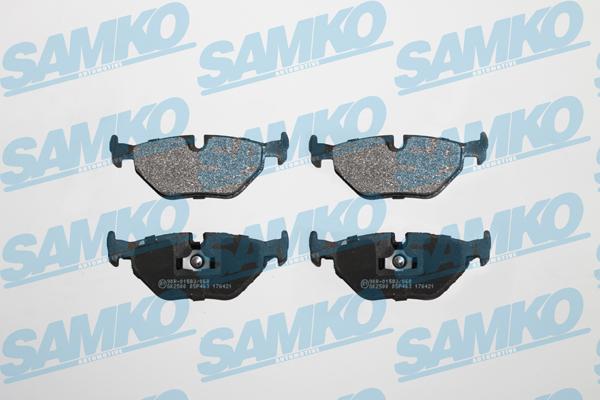 Спирачни накладки SAMKO -5SP463