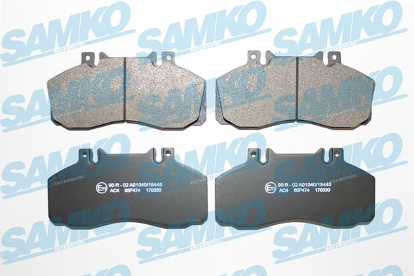 Спирачни накладки SAMKO -5SP474