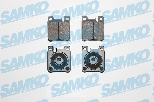 Спирачни накладки SAMKO -5SP477