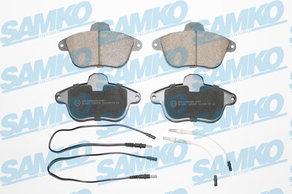 Спирачни накладки SAMKO -5SP478