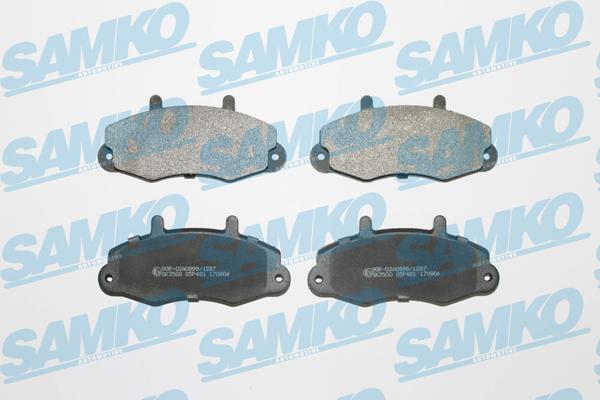 Спирачни накладки SAMKO -5SP481