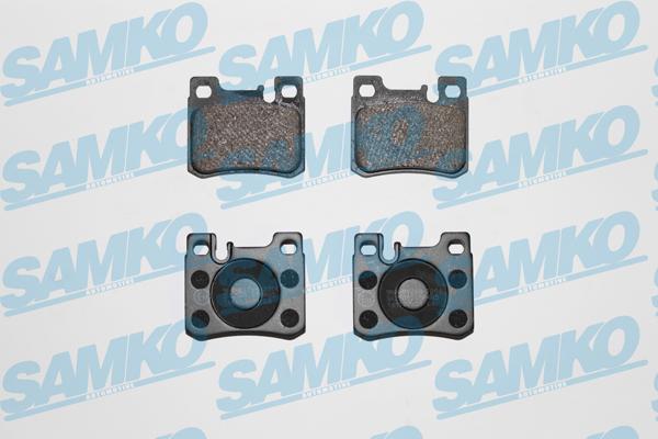 Спирачни накладки SAMKO - 5SP485