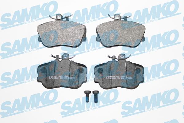 Спирачни накладки SAMKO - 5SP492
