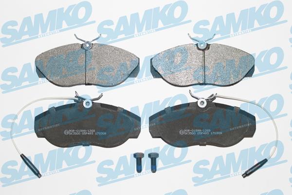 Спирачни накладки SAMKO 5SP493