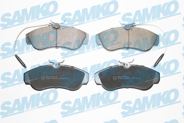 Спирачни накладки SAMKO - 5SP494