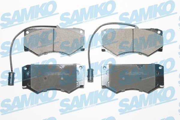Спирачни накладки SAMKO 5SP499
