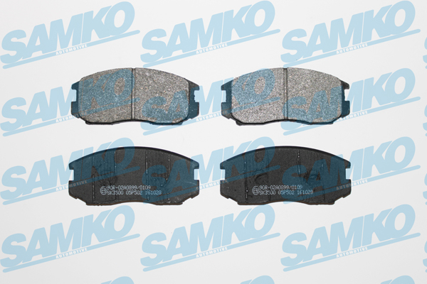 Спирачни накладки SAMKO -5SP502