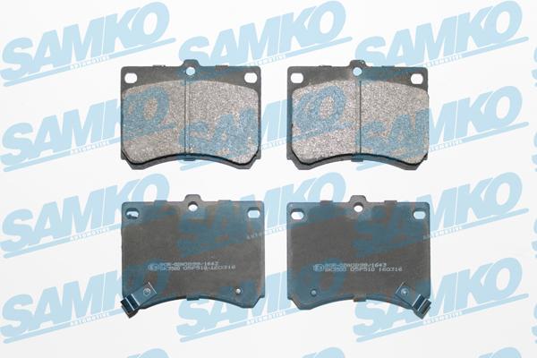 Спирачни накладки SAMKO -5SP510