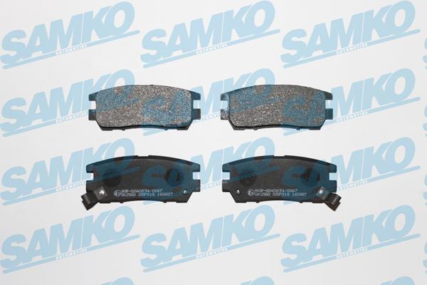 Спирачни накладки SAMKO - 5SP518