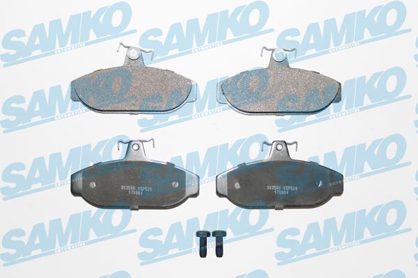 Спирачни накладки SAMKO -5SP529