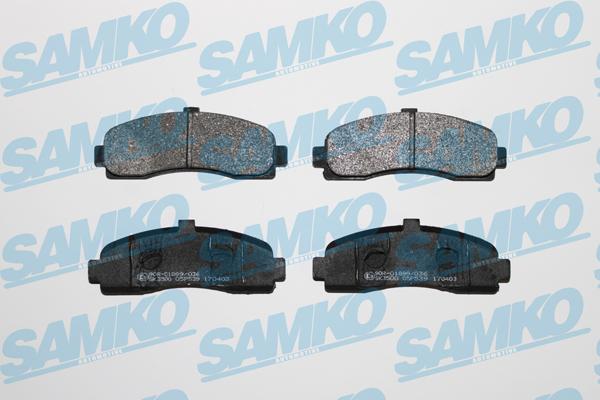 Спирачни накладки SAMKO 5SP539