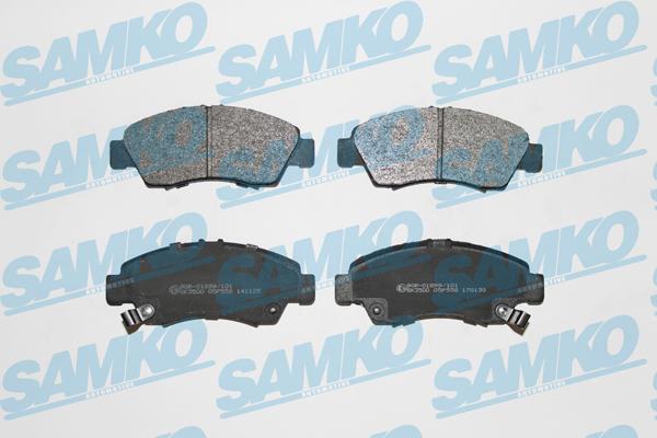 Спирачни накладки SAMKO 5SP558