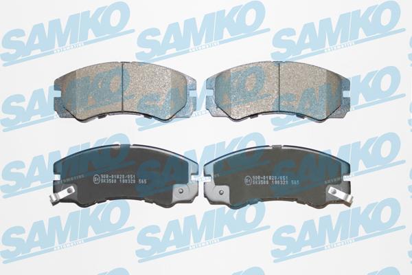 Спирачни накладки SAMKO -5SP565