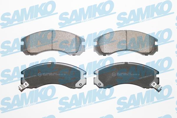 Спирачни накладки SAMKO -5SP578